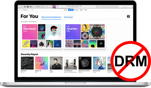 NoteBurner Apple Music Converter - Apple Music の DRM を完璧に無効化する