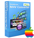NoteBurner M4V Converter Plus Mac 版