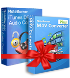 Mac 用NoteBurner iTunes DRM 解除セット製品